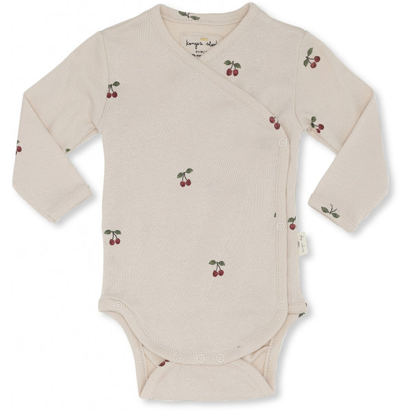 Konges Slojd Organic Cotton Newborn Body Cherry Blush