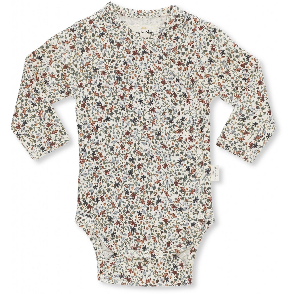 Konges Slojd Organic Cotton Newborn Body Louloudi