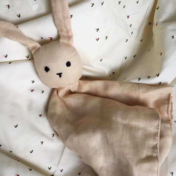 Organic Cotton Sleepy Rabbit - Various Colours