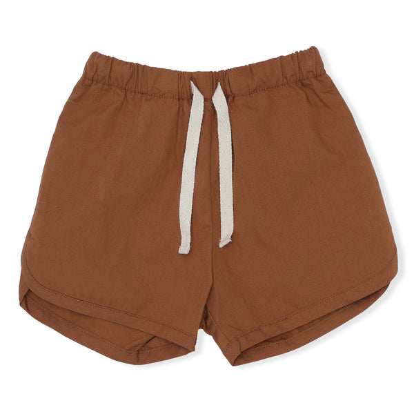 ORGANIC COTTON VISNO SHORTS CARAMEL