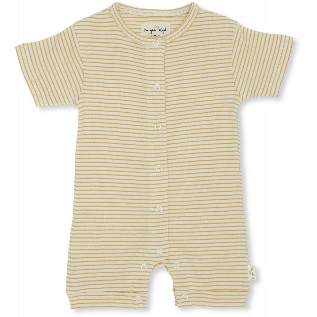 Konges Slojd Organic Cotton Newborn Dio Onesie Sunspell Stripes