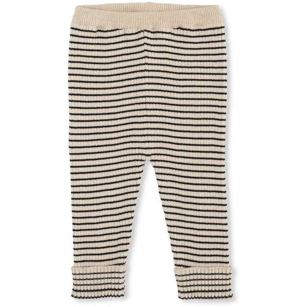 Konges Slojd ORGANIC COTTON KNIT MEO PANTS NAVY RICE