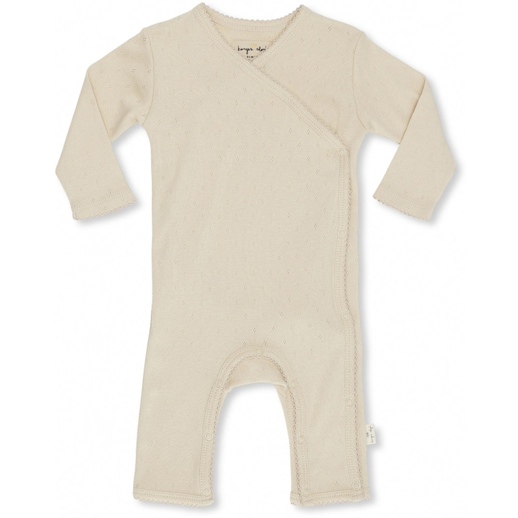 Konges Slojd Organic Cotton Newborn Onesie - Minnie Peach