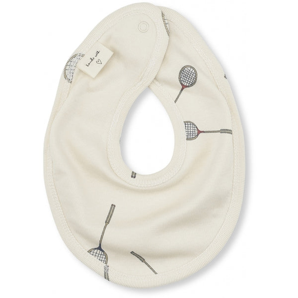 Konges Slojd Organic cotton newborn bib Smash print