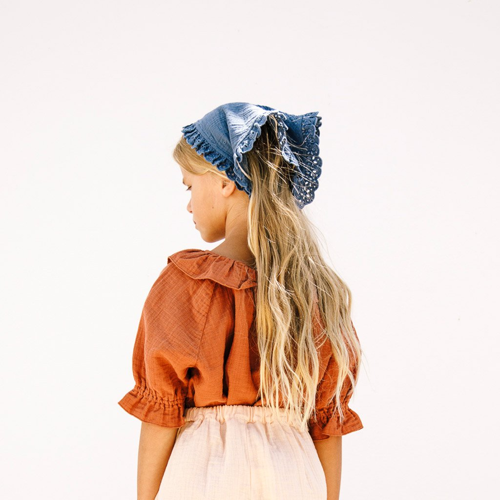 LiiLU Head Scarf - Ocean Blue