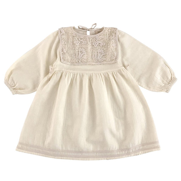LiiLU Folk Emma Dress - Milk Lace