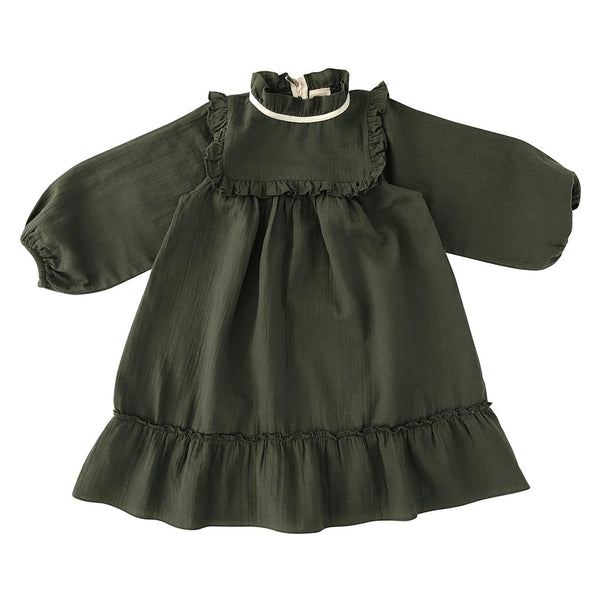 LiiLU Liana Dress - Pine Green