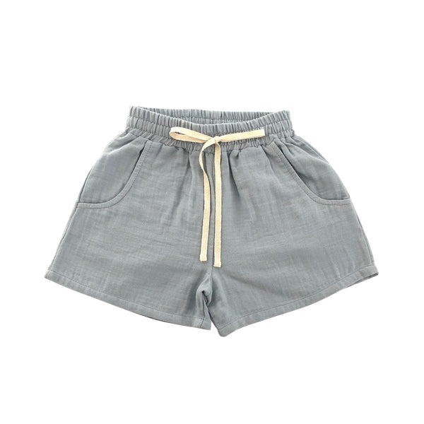 Tudor shorts - Dusty blue