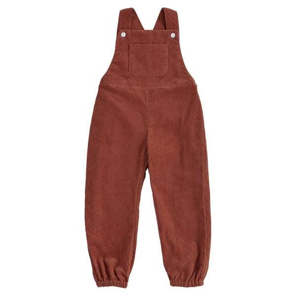 Little Cotton Clothes Falmouth dungarees - clay corduroy