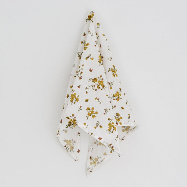 Little Cotton Clothes Triangle scarf - tansy floral