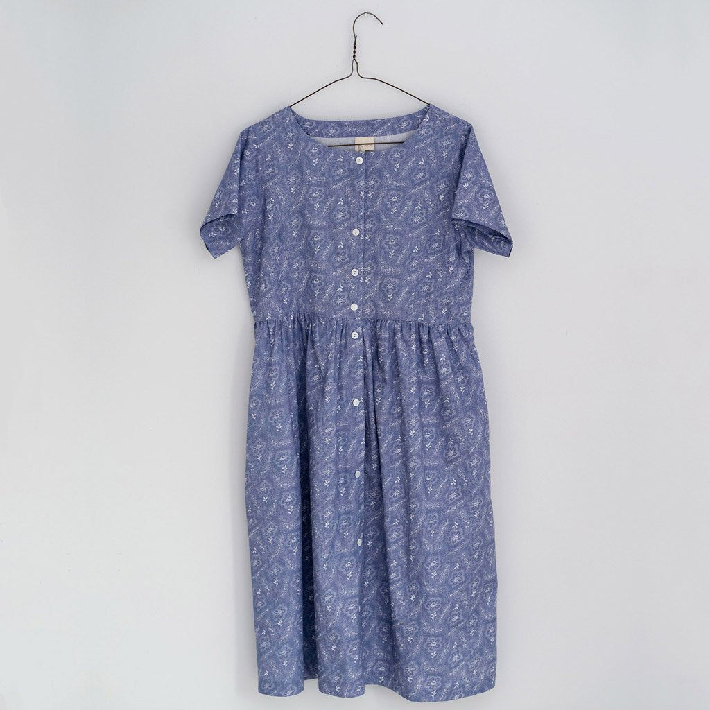 Little Cotton Clothes Women's Aylin dress - cornflower floral