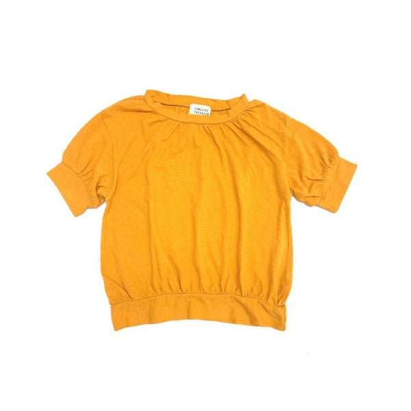 Long Live the Queen Puff Tee Golden Yellow
