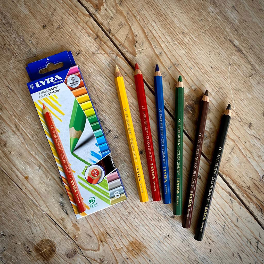 Lyra Colour Giants Pencils - Standard