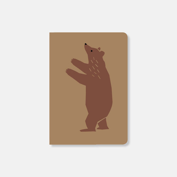 Michoucas Notebook Brown Bear
