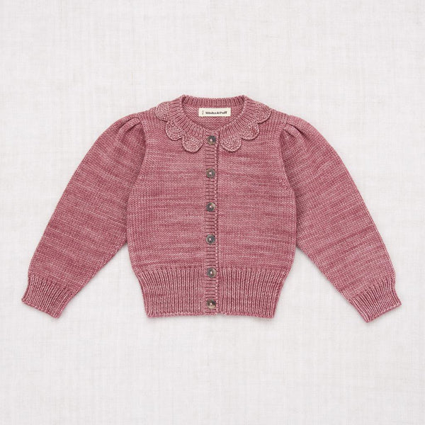 Misha and Puff Ellie Cardigan - Antique Rose
