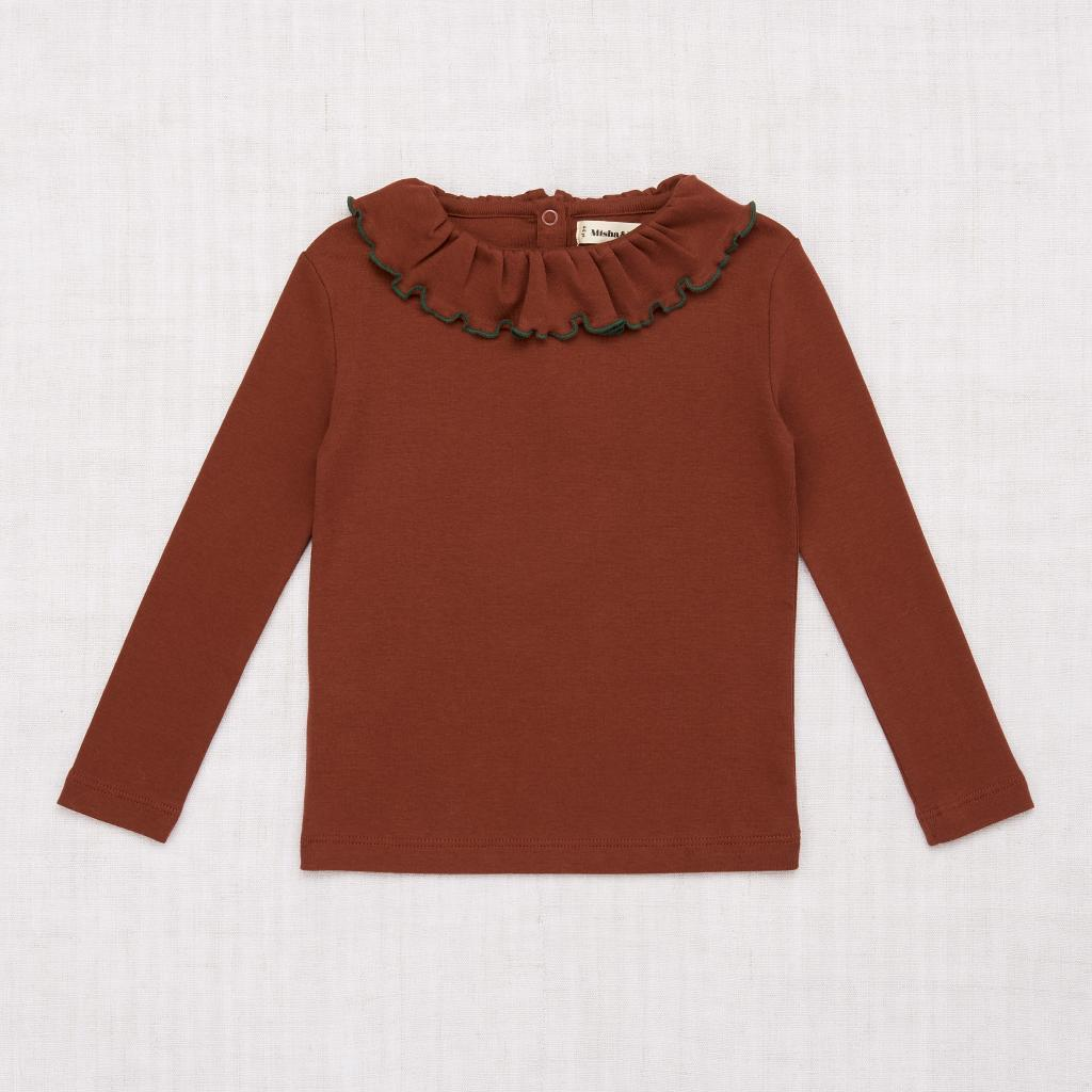 Misha and Puff Paloma Top - Chestnut