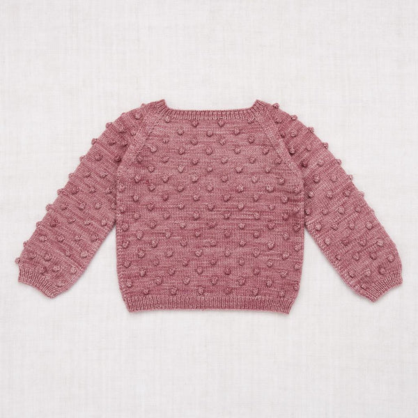 Misha and Puff Popcorn Sweater - Antique Rose