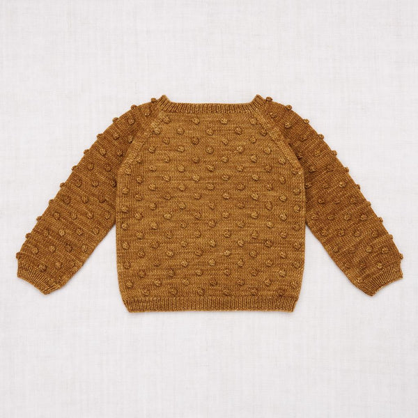 Misha and Puff Popcorn Sweater - Bronze