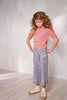 Misha and Puff Chevron Pants - Blue Space Dye