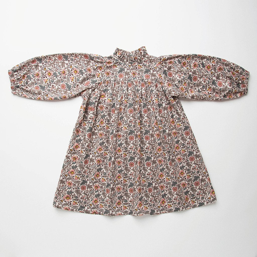 Nellie Quats Marbles Dress - Emery Walker Liberty Print