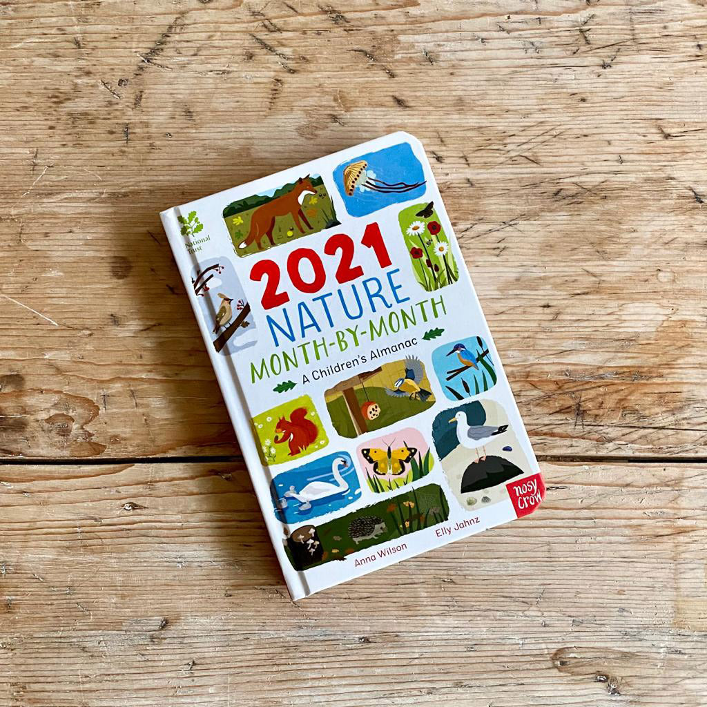 Nosy Crow 2021 Nature Month-By-Month: A Children's Almanac