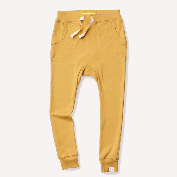 Organic Cotton Louie Slim Jogger Miel