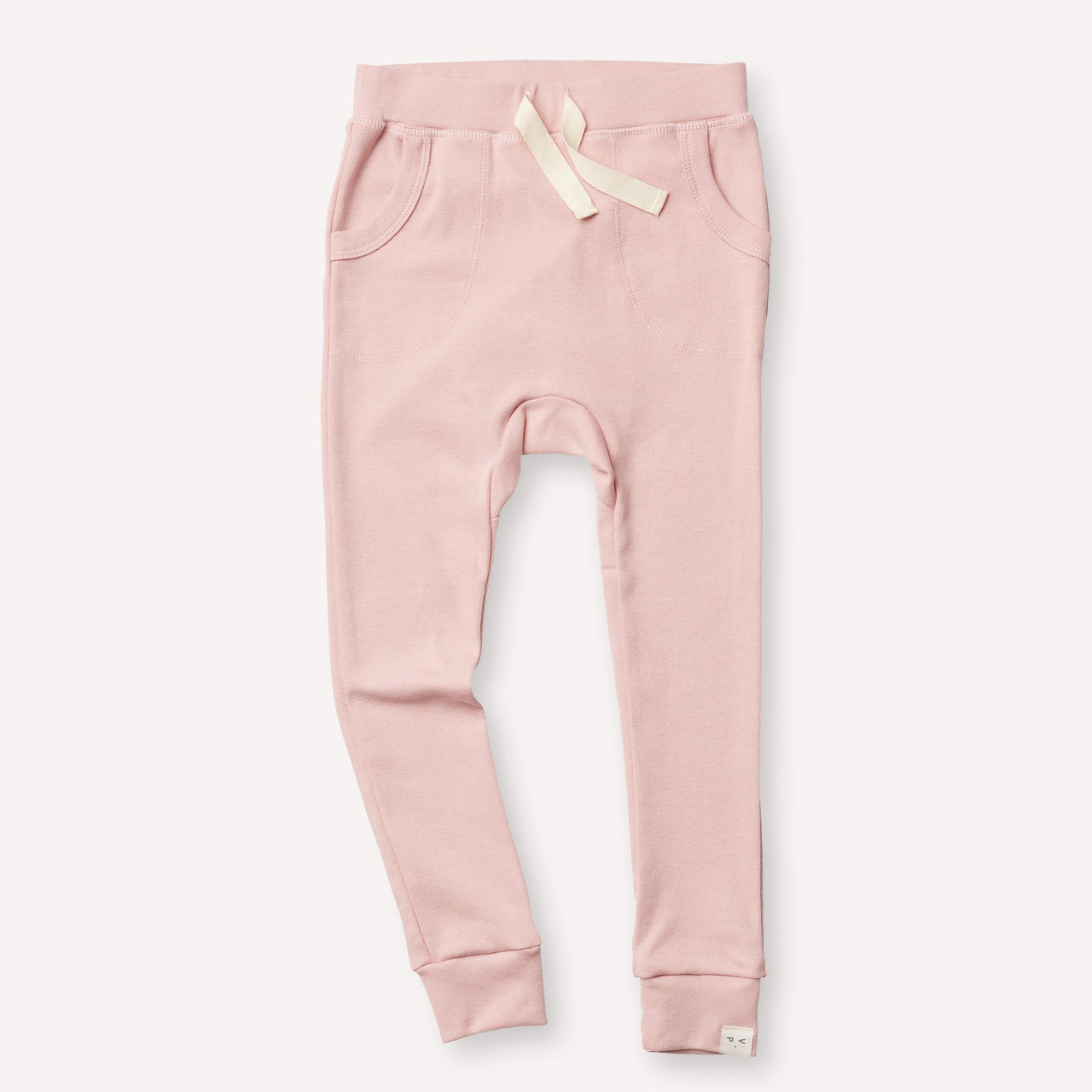 Organic Cotton Louie Pant - Dusty Pink