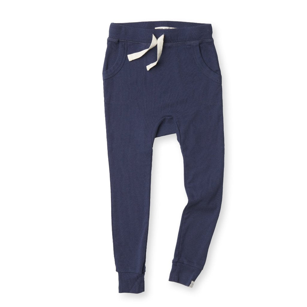 Organic Cotton Louie Pant - Marine