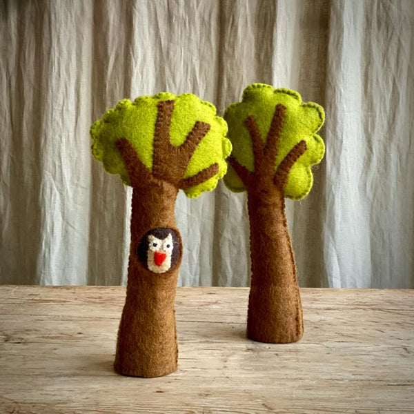 Woodland Tree Set - Owl