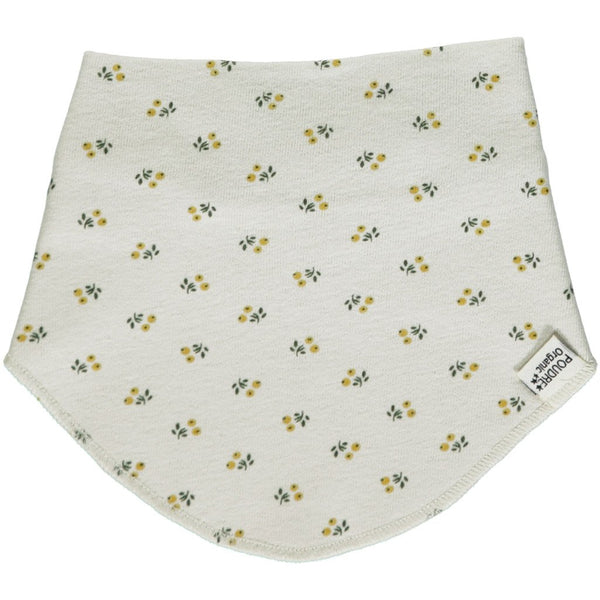 Poudre Organic Cotton Bib Asperule - Honey Print