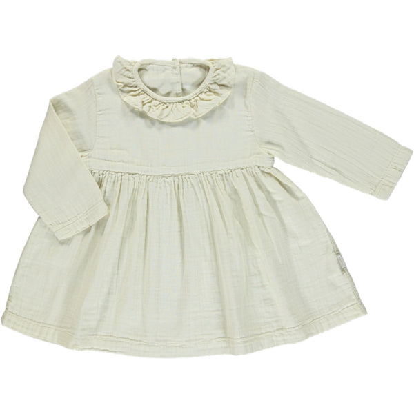 Poudre Organic Cotton Dress Campanule - Almond Milk
