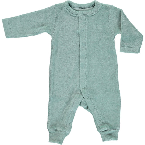 Poudre Organic Cotton Terry Onesie Airelle - Blue Surf