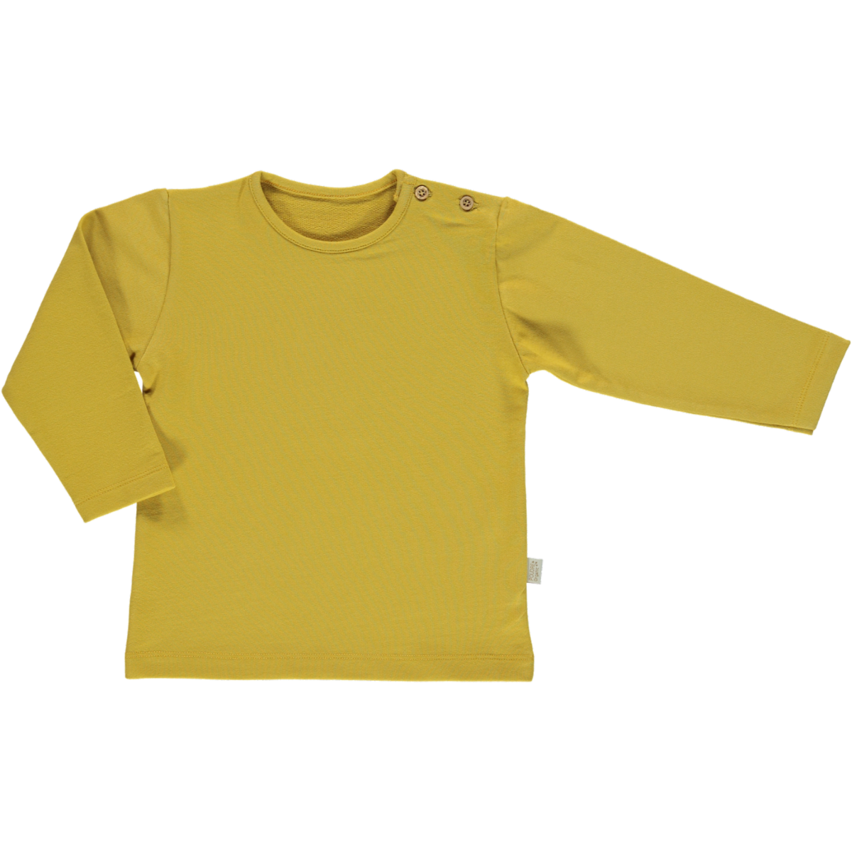 Poudre Organic Cotton Long Sleeve Top Estragon - Honey