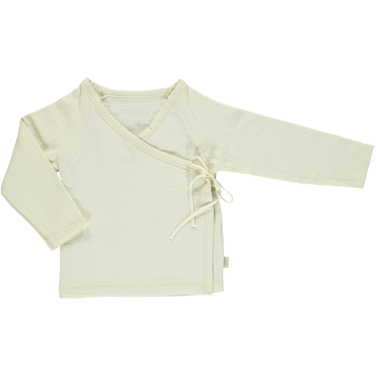 Poudre Organic Cotton Wrap Over Top Gentiane - Almond Milk