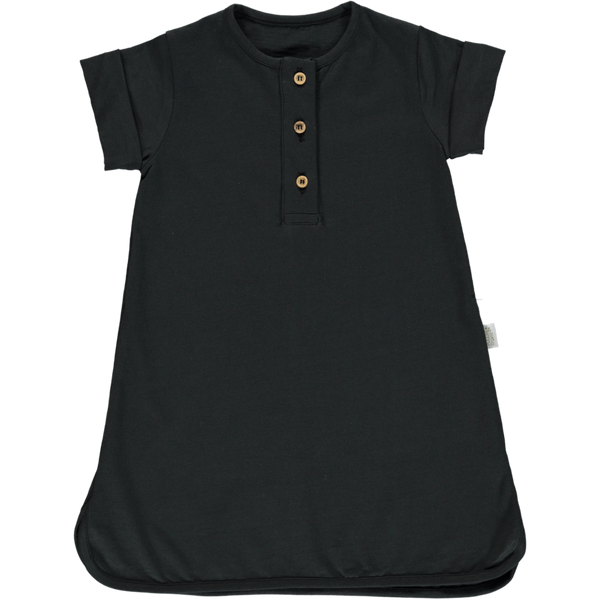 Poudre Organic Organic Cotton Dress calendula - pirate black
