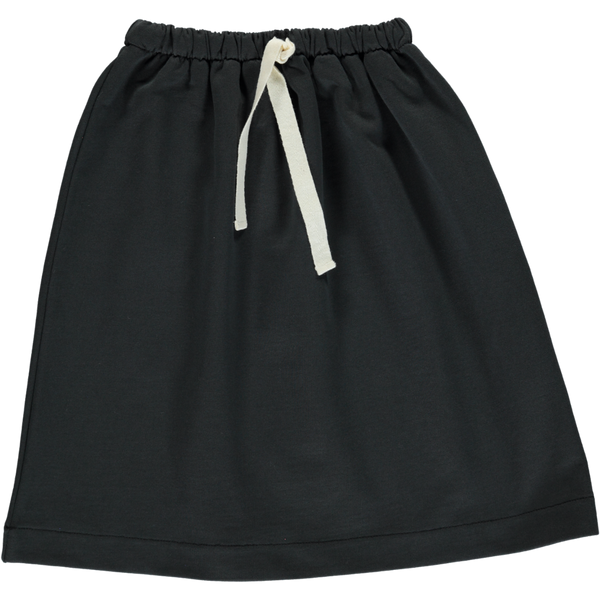 Poudre Organic Organic Cotton Skirt coriandre - pirate black