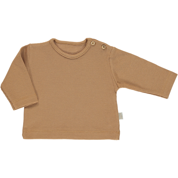 Poudre Organic Organic Cotton Sweater estragon - brown sugar
