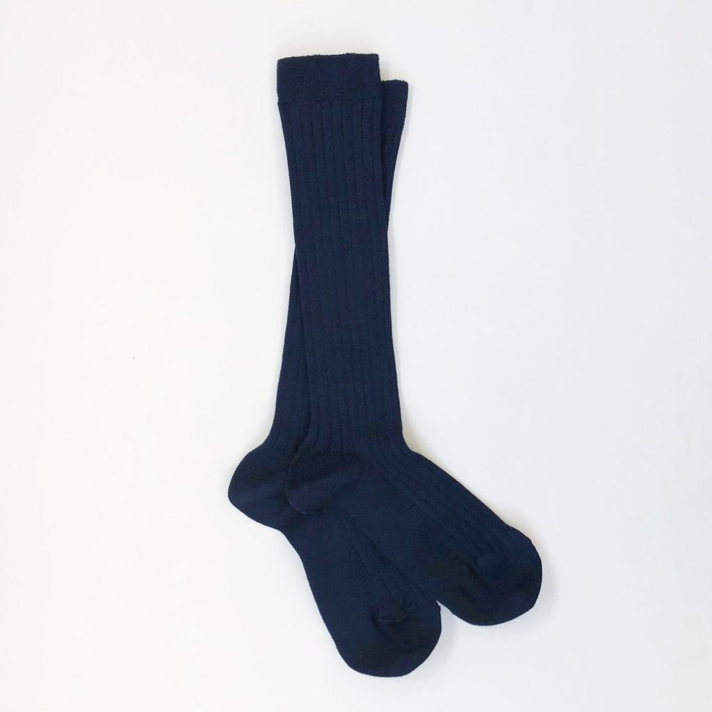 LONG SOCKS - NAVY - 480