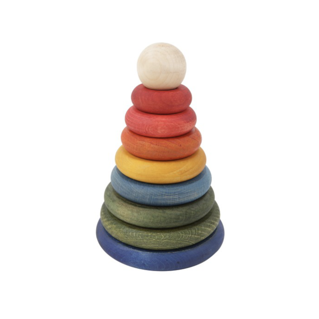 Wooden Story - Wooden Stacker - Rainbow