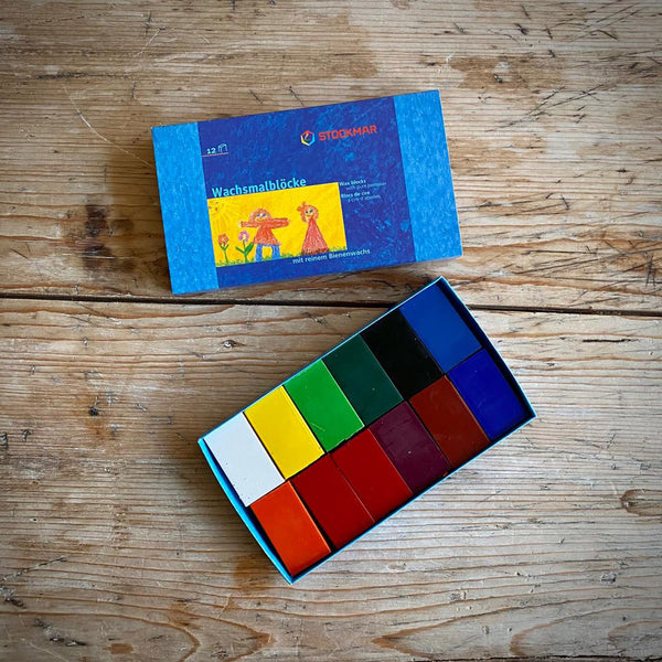 Stockmar Wax Crayon Blocks