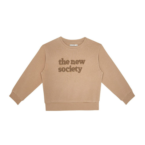The New Society Sweater Camel