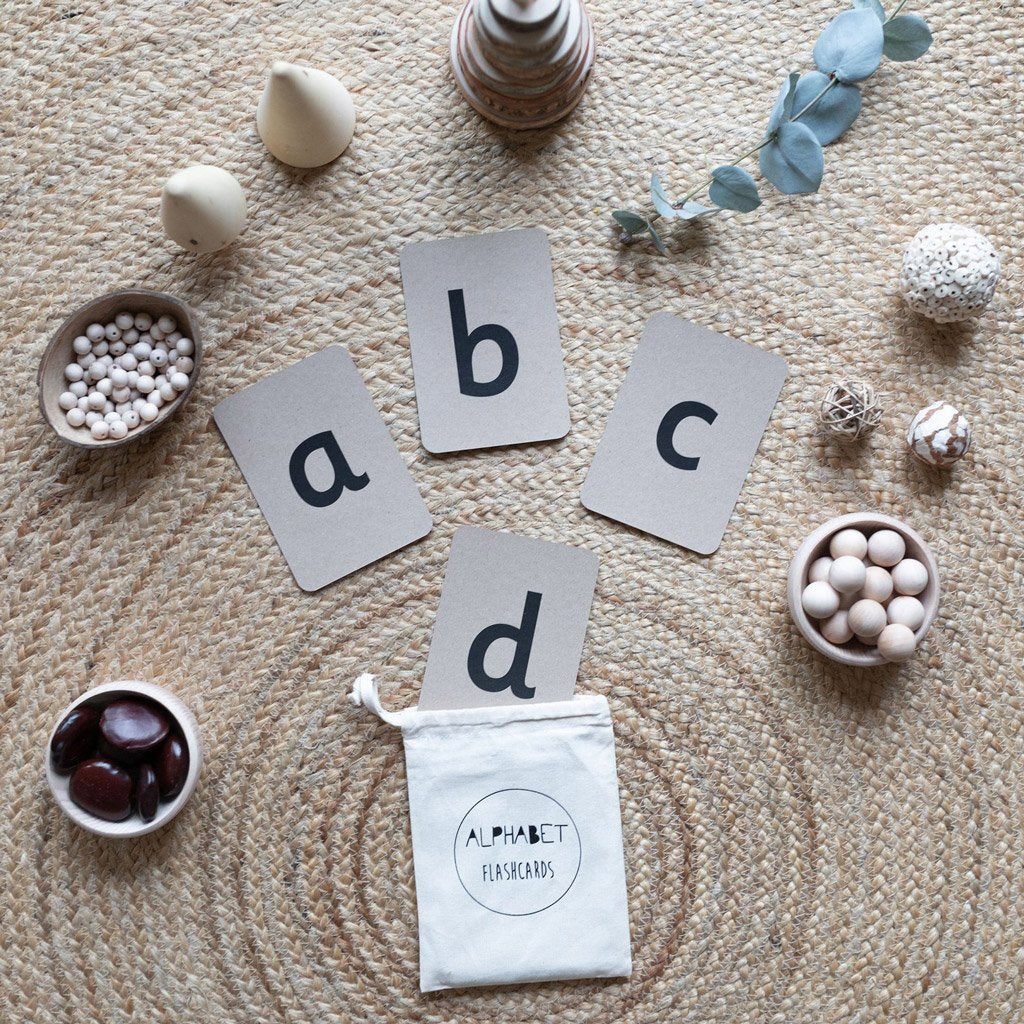 The Little Coach House Alphabet Flashcards