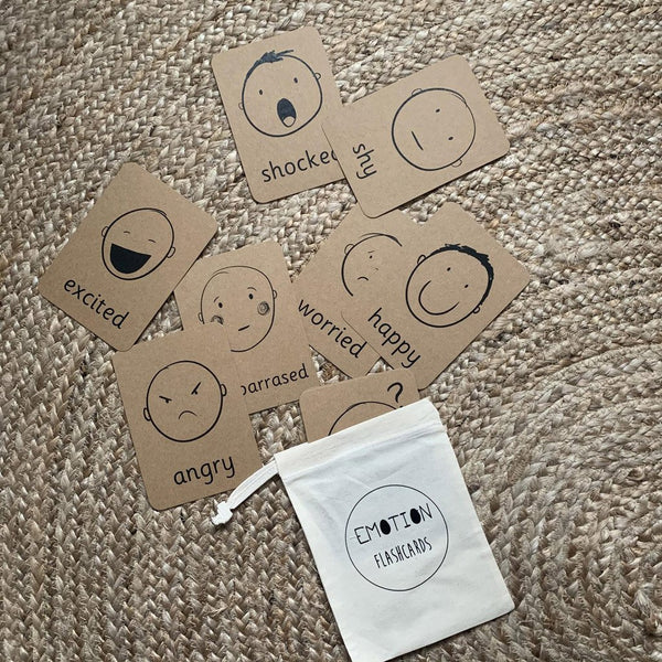 The Little Coach House Emotion Flashcards