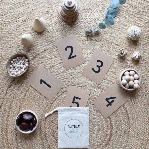 The Little Coach House Number Flashcards