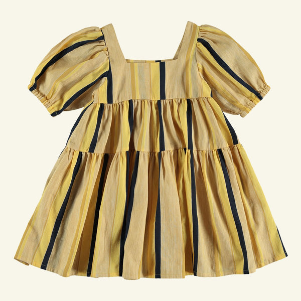 The New Society LORENZO ORGANIC COTTON DRESS - STRIPE