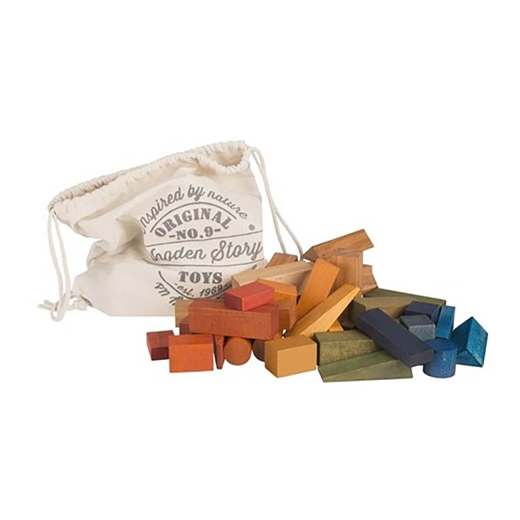 Wooden Story - Rainbow Blocks