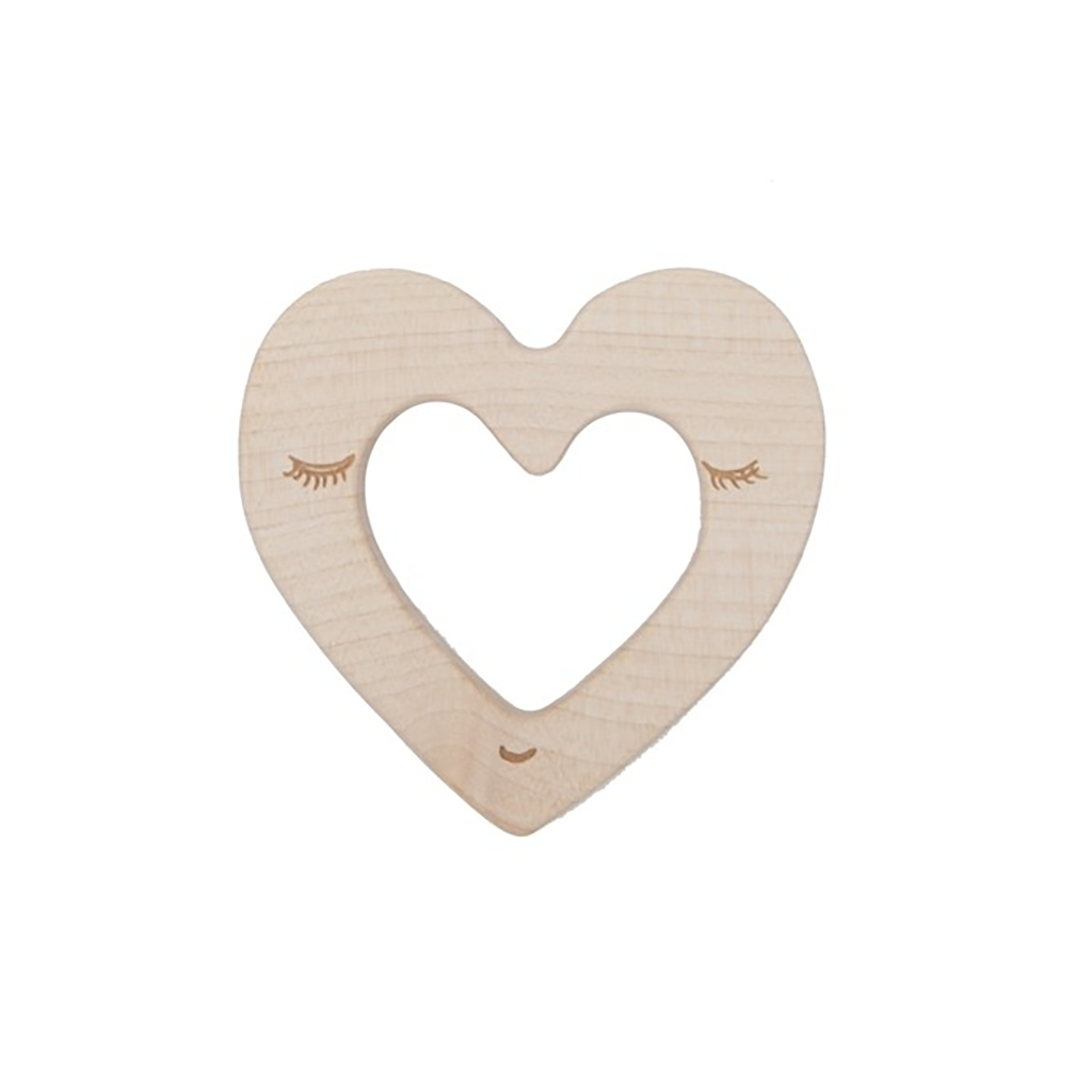 Wooden Story - Teether - Heart