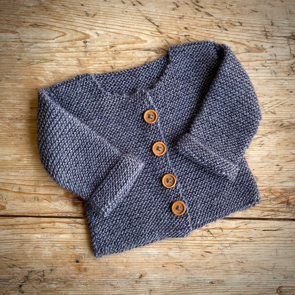Yarn Goodies Handmade Cardigan Denim