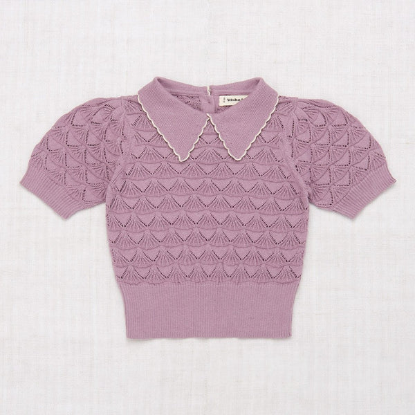 Misha and Puff Joanne Blouse - Antique Mauve