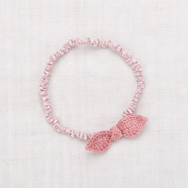 Misha and Puff Leaf Headband - Rose Blush